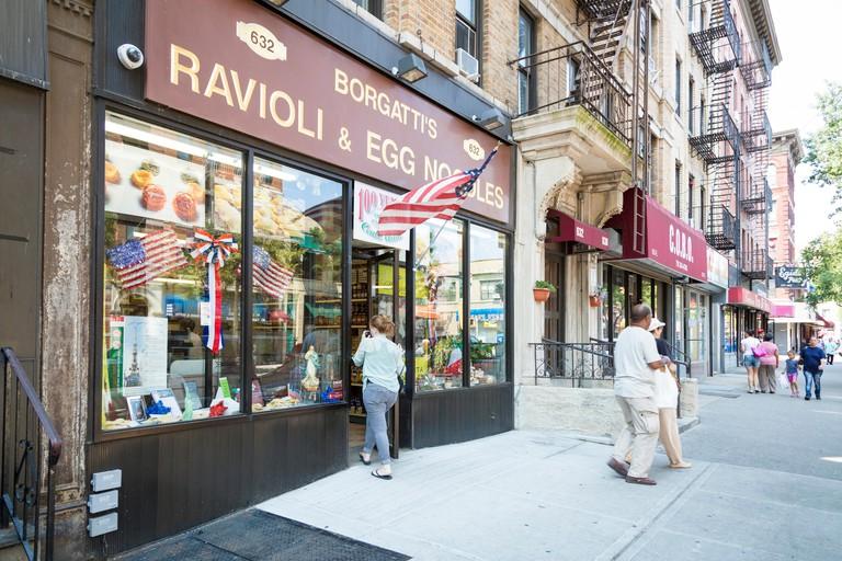 Bronx, New York, USA. Arthur Avenue, Little Italy.