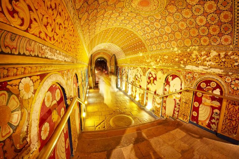 Sri Lanka - Temple of the Tooth, Kandy, Sri Dalada Maligawa, UNESCO World Heritage Site, Buddhist shrine