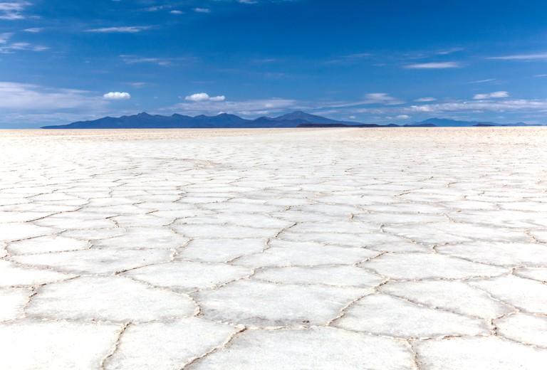Salar de Uyuni. Salt flats. Bolivia
