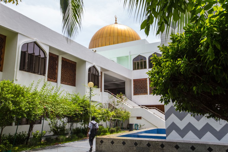 Grand Friday Mosque and Islamic Centre in Male Maldives