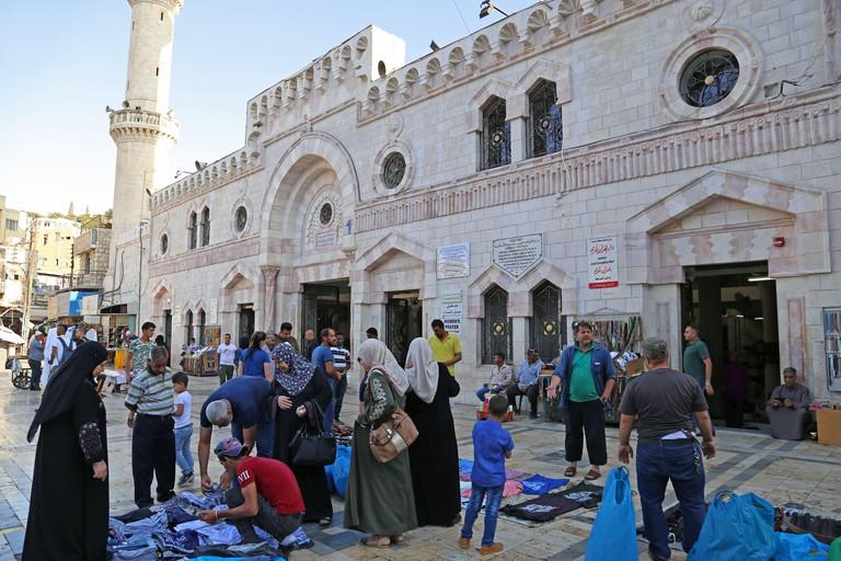 Grand Husseini Mosque, King Talal Street, Al Rjoum, Amman, Jordan, Middle East