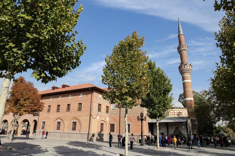 Haci Bayram Mosque in Ankara City, Turkey