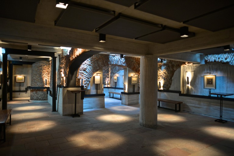 Zanjon de Granados (The Rivulet of Granados) underground museum. Located where some historians place te first settlement of Buenos Aires in 1536, offe