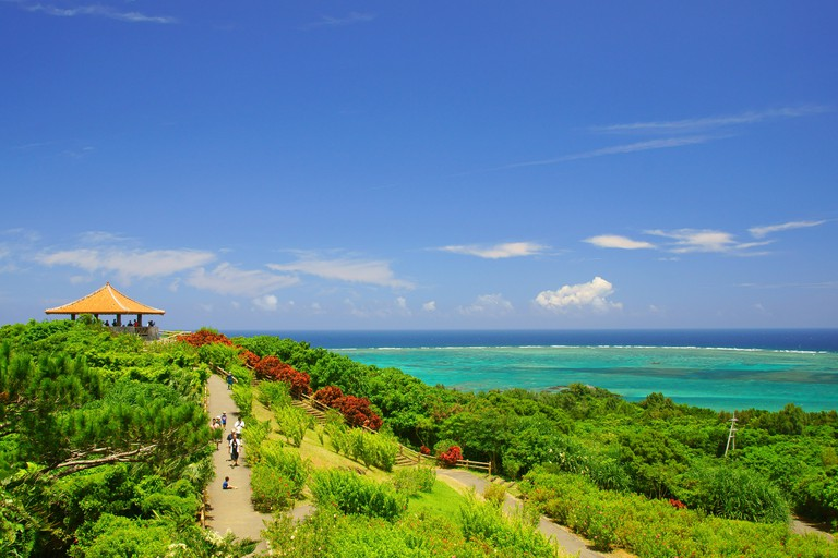 Tamatorizaki Observatory, Ishigaki Island, Okinawa Prefecture, Japan