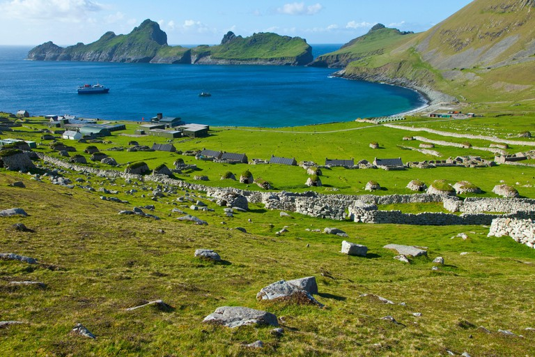 Village Bay - St Kilda Hirta Scotland Hebrides