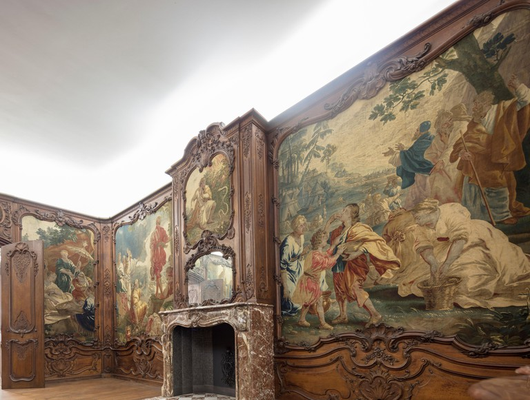 Aachen room, 1740; German National Museum,  Nuremberg, Bavaria, Germany
