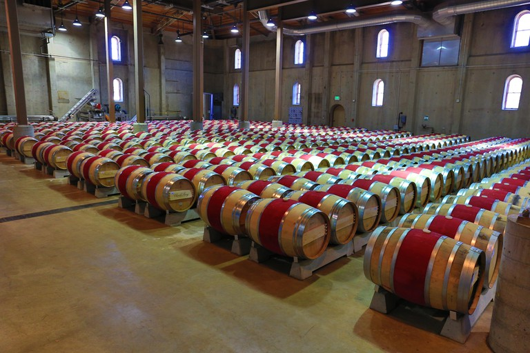 The Charles Krug Winery, Napa Valley
