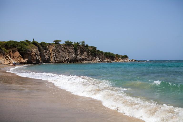 Playa Negra, Black Sand Beach, Vieques, Puerto Rico