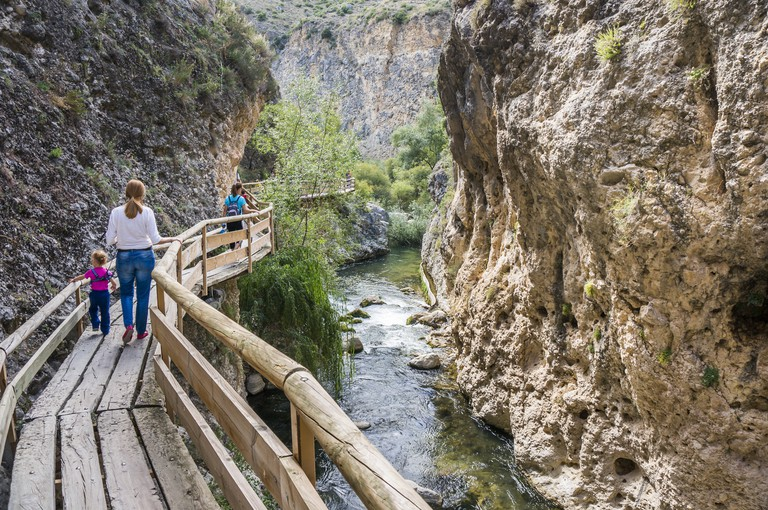 Castril river trail, Granada, Andalucia, Spain.