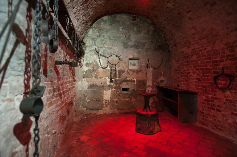 Lochgef‰ngnisse Nuernberg   Nuremberg Medieval Dungeons