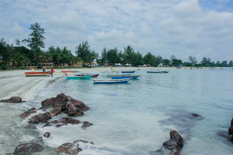 Desaru beach, Bandar Penawar, Johor, Malaysia