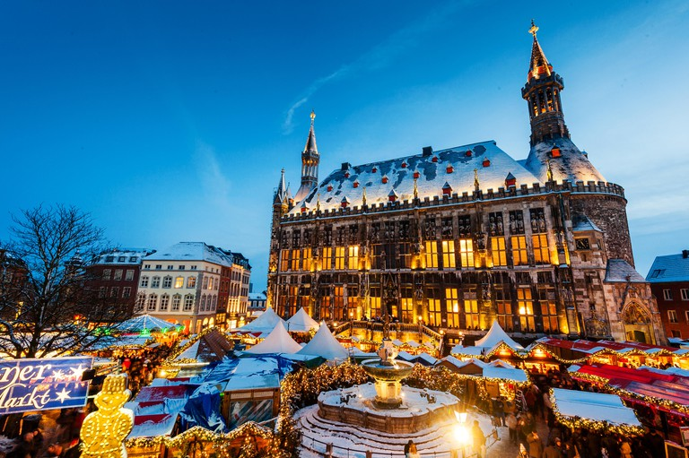 Christmas market, Aachen, Germany