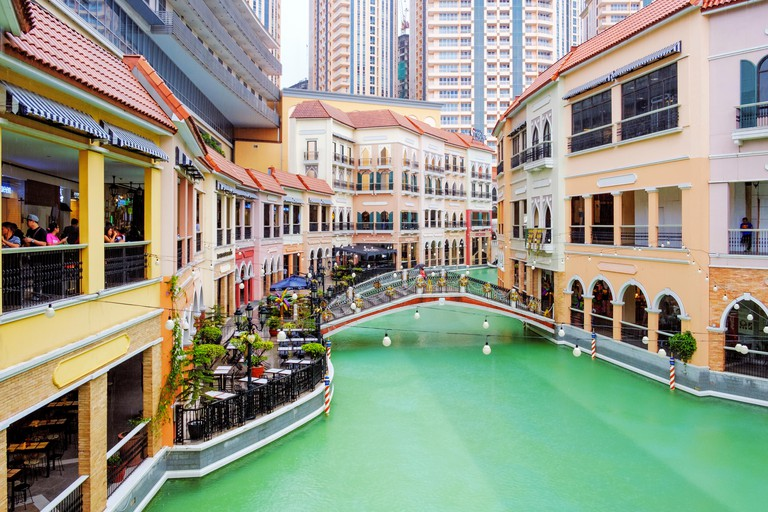 Venice Grand Canal Shopping Mall, in Manila, Philippines