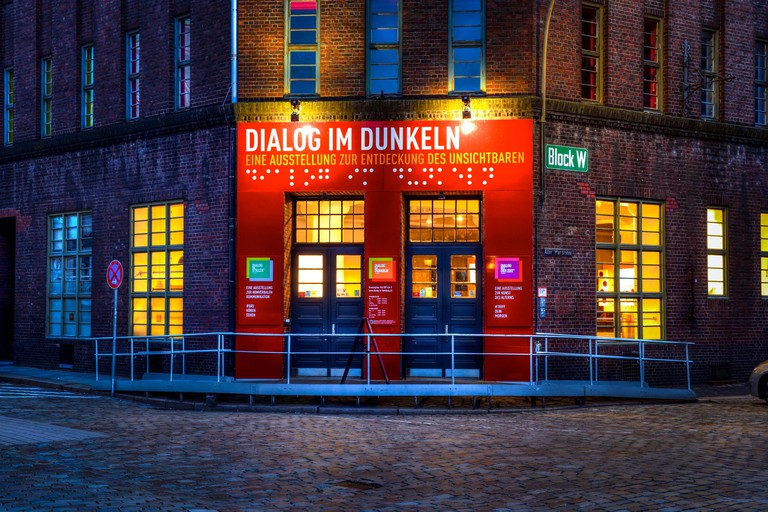 Dialog im Dunkeln in Hamburg, Germany