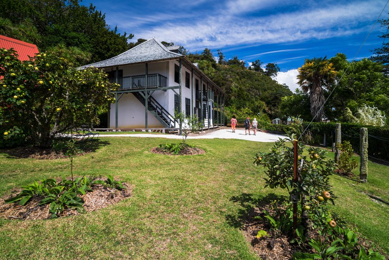 Pompallier Mission House and Printery, Russell, Bay of Islands, Northland Region, North Island, New Zealand