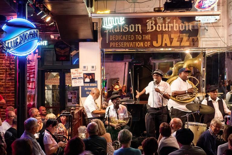 Historic Jazz locations in New Orleans Louisiana USA