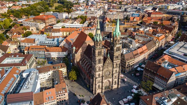 St Lorenz Kirche Nurnberg, St Lorenz Church,  Nuremberg, Germany
