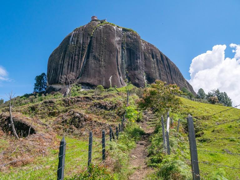 Rock of Guatape (Piedra Del Penol) Guatape, Colombia