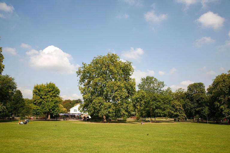 Queens Park in Kensal Rise, London