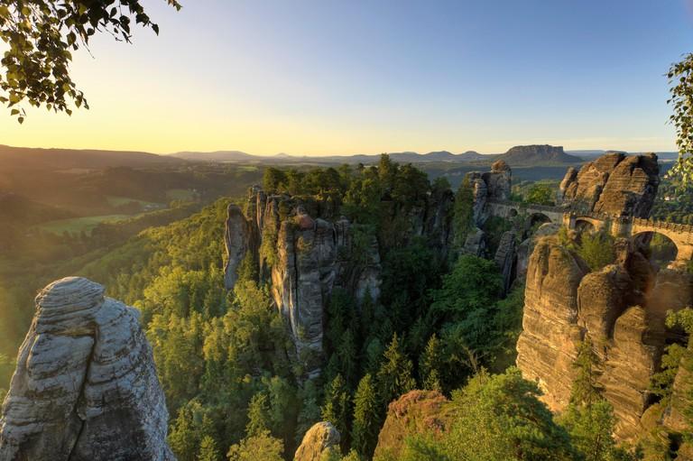 Germany, Saxony, Dresden, Saxon Switzerland National Park (Sachsische schweiz)