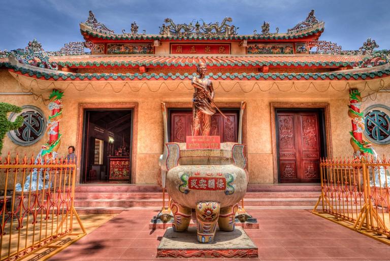 Sac Tu Tam Bao Tu Pagoda. Rach Gia. Vietnam, Indochina, South East Asia. Orient. Asia.