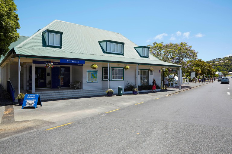 Russell Museum in Russell North Island New Zealand