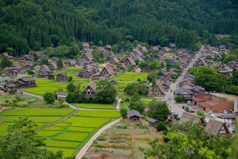 Asia, Japan, Gifu prefecture, Shirakawa-go
