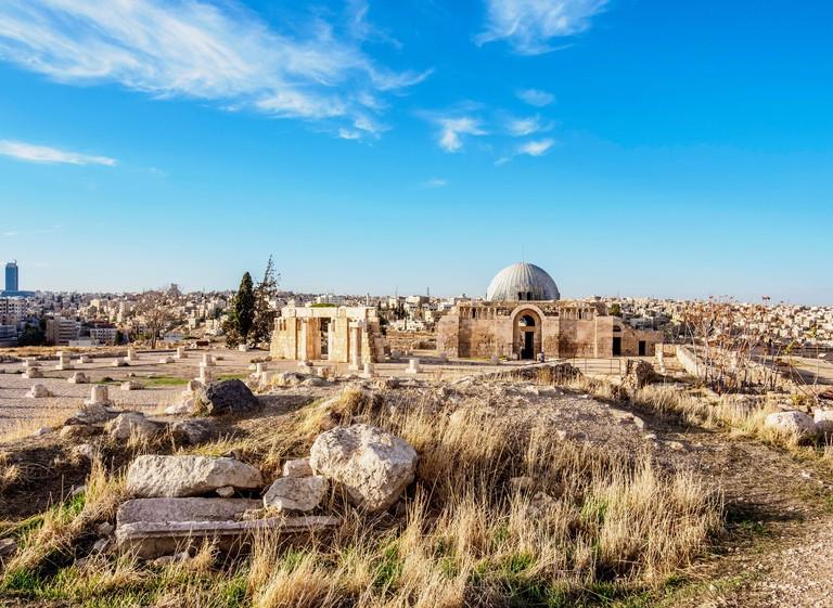Umayyad Palace, Amman Citadel, Amman Governorate, Jordan