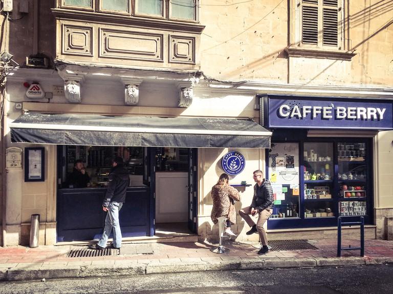 Cafe Berry, Sliema, Malta