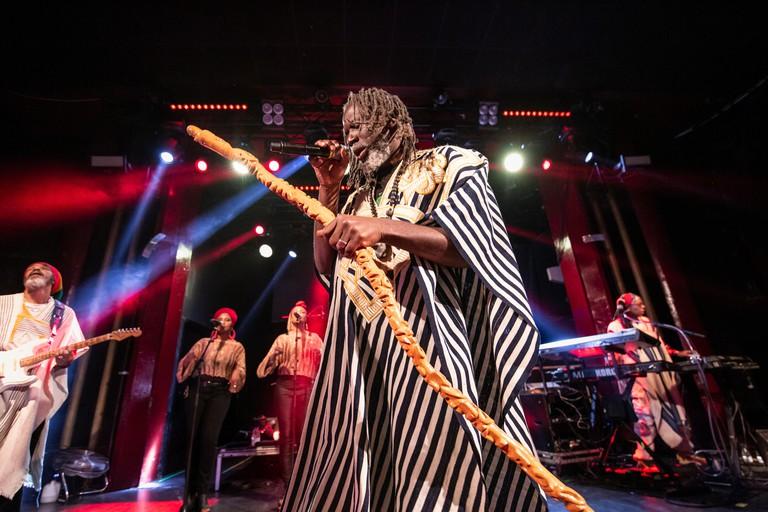 Barcelona, Spain. 2019.11.06. Tiken Jah Fakoly concert at Sala Apolo inside Cruilla de Tardor. Photographer: Aitor Rodero.