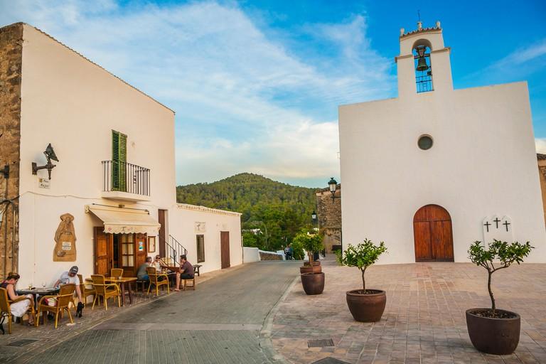 Sant Agusti des Vedra Village. Sant Josep de Sa Talaia Municipality. Ibiza Island. Balearic. Islands. Spain