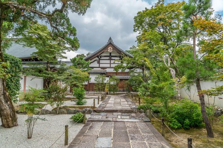 Shogan-ji temple, located next to Tenryu-ji temple in Arashiyama, Kyoto_RTRC29