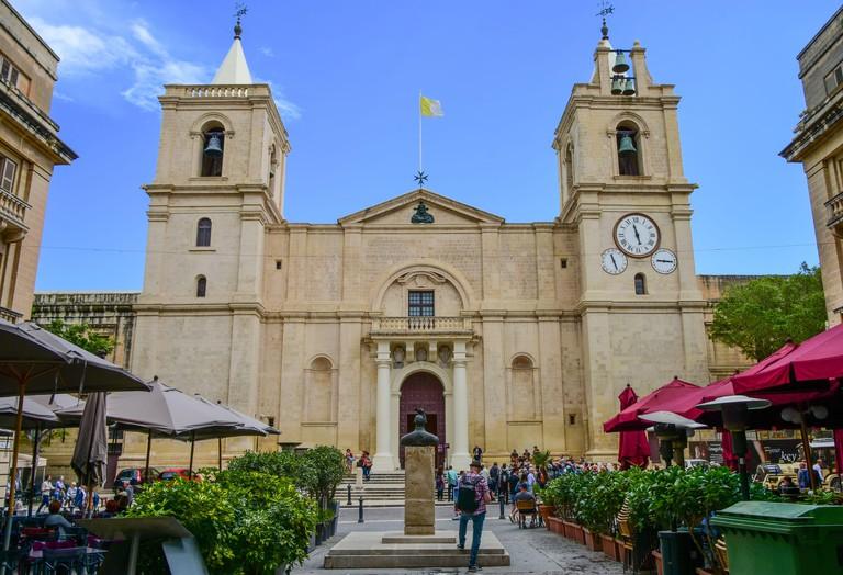 St John's Co-Cathedral in Valletta, Malta