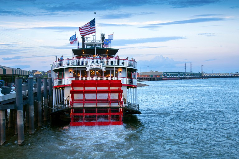 Louisiana, New Orleans, Natchez Steamboat, Mississippi River