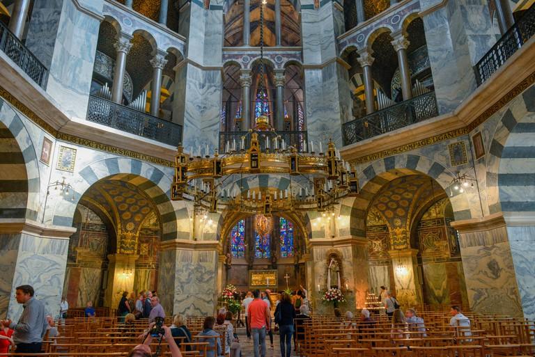 Karlskapelle Zentralbau, Dom, Aachen, Nordrhein-Westfalen, Deutschland