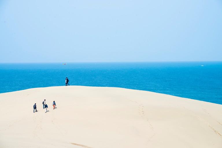 Tottori Sand Dunes, Tottori Prefecture, Japan