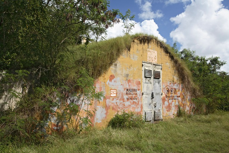 Abandoned ammunition depot, Vieques, Puerto Rico