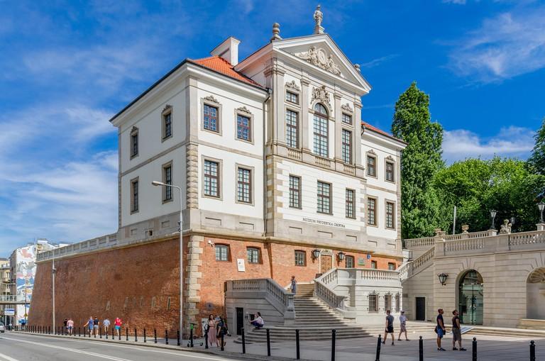 Fryderyk Chopin museum at the Ostrogski castle.Warsaw, mazovian province, Poland.