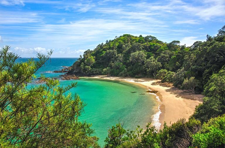 Whale Bay, Tutukaka Coast, Northland Region, North Island, New Zealand