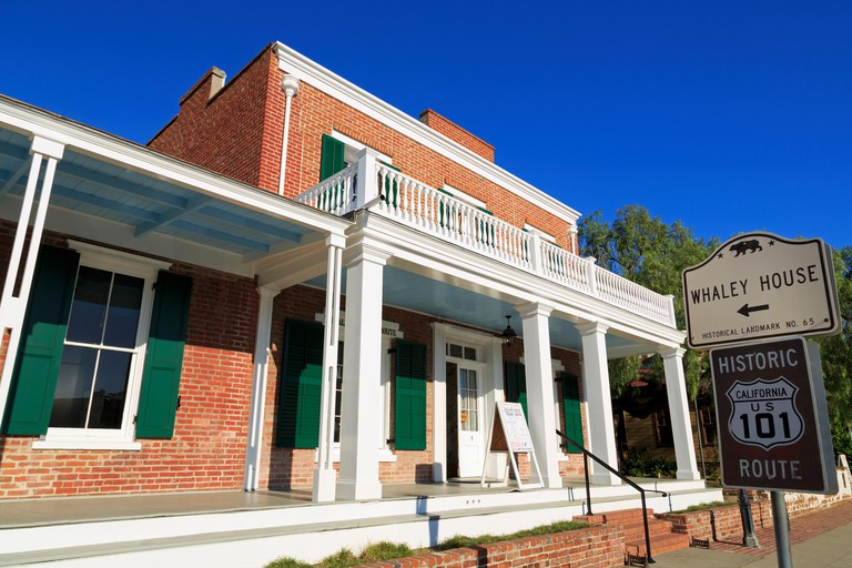 Whaley House Museum, Old Town, San Diego, California, USA