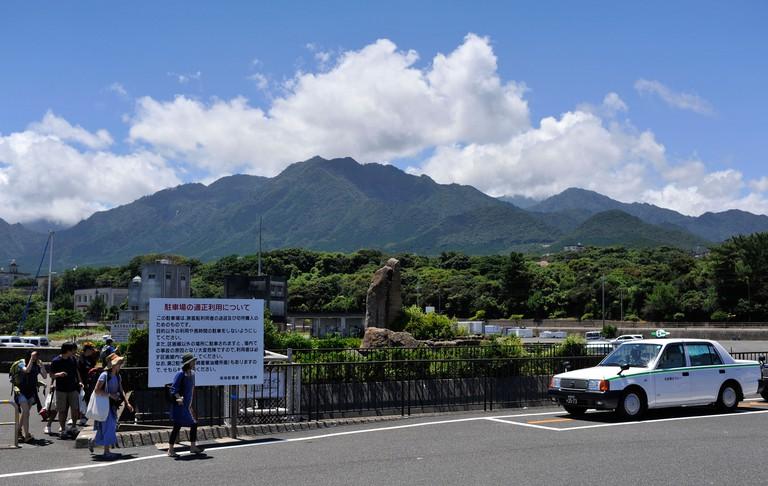 General scene on Yakushima island in southern Japan
