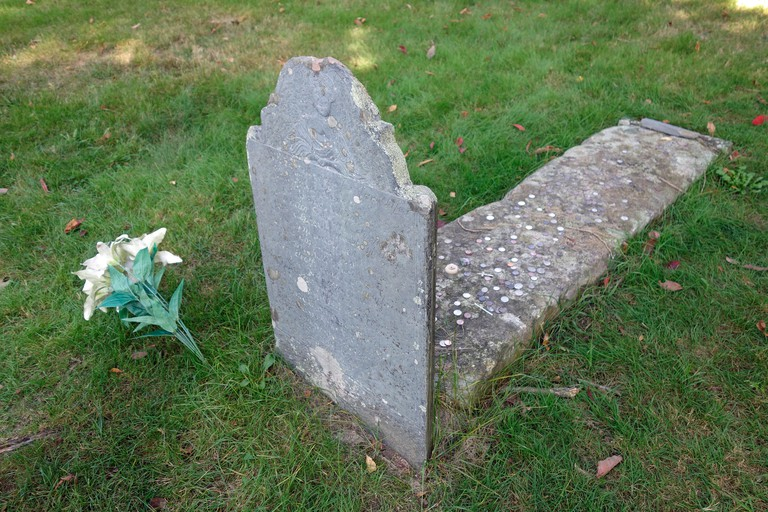 Mary Nasson, A witch's grave in York, Maine, USA