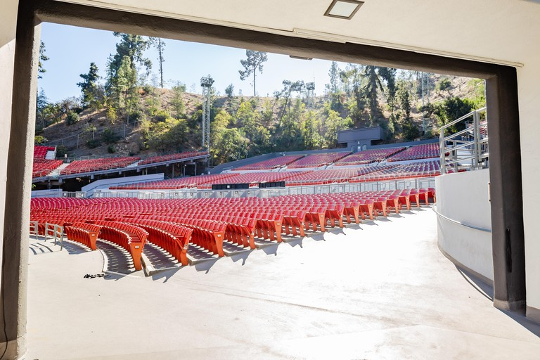 The Greek Theatre is an open air music venue in Griffith Park, Los Angeles, California