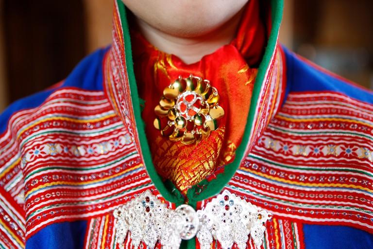 Laplander traditional costume
