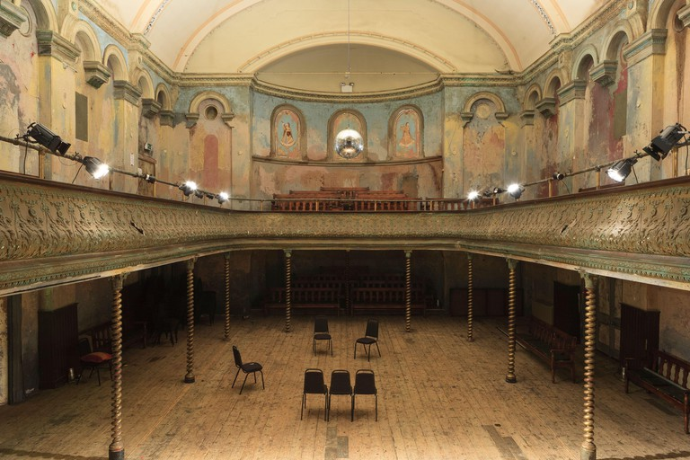 Wilton's Music Hall, Graces Alley (off Ensign Street), London, E1 8JB, U.K.Wilton's Music Hall is a Grade II listed building in Shadwell, built as a