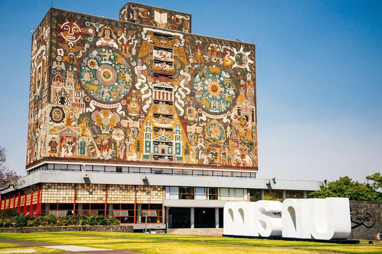 Central University City Campus of the Universidad Nacional Autonoma de Mexico UNAM - UNESCO World Heritage Site
