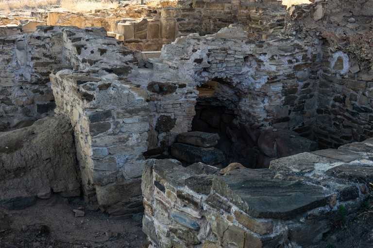 Ruins of Armazi ancient city dated BC close to old capital of Georgia, Mtskheta