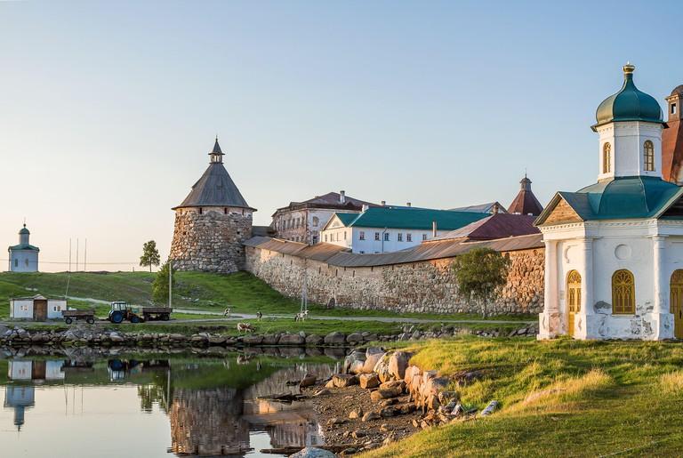 Russia. Arkhangelsk region. Solovetsky monastery