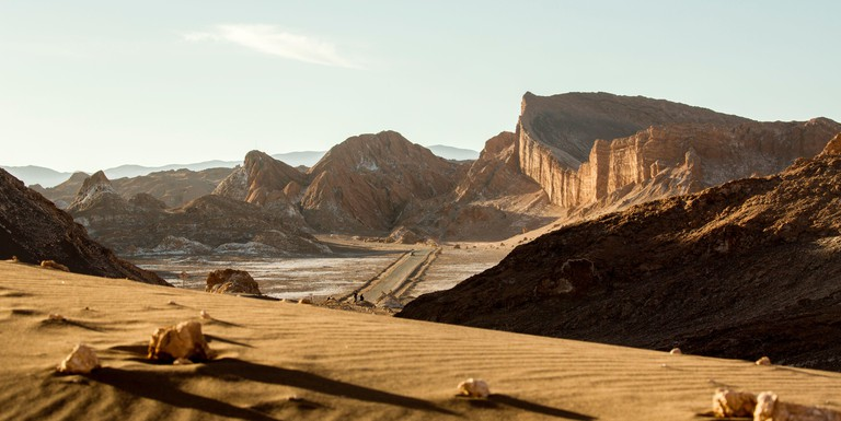 Anfiteatro Valle de la Luna, Atacama Desert. Chile