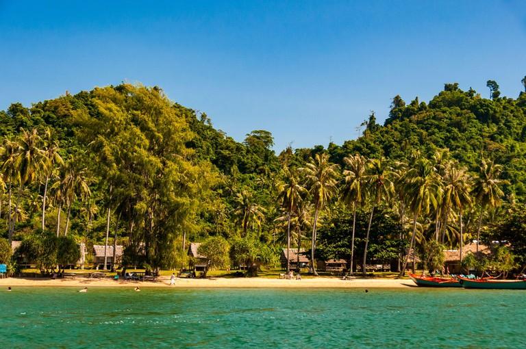 View of Rabbit Island, Cambodia